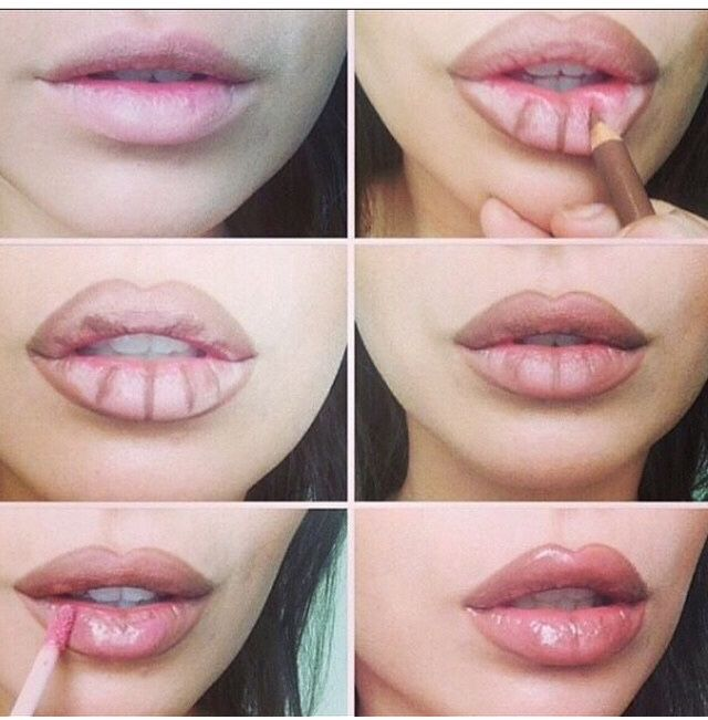 DIY Lip injection