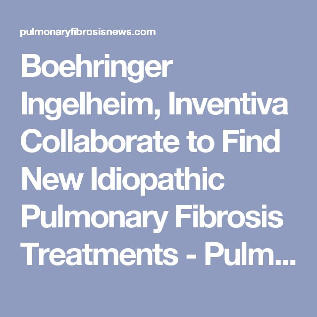 Boehringer Ingelheim, Inventiva Collaborate to Find New Idiopathic Pulmonary Fibrosis Treatments - Pulmonary Fibrosis News
