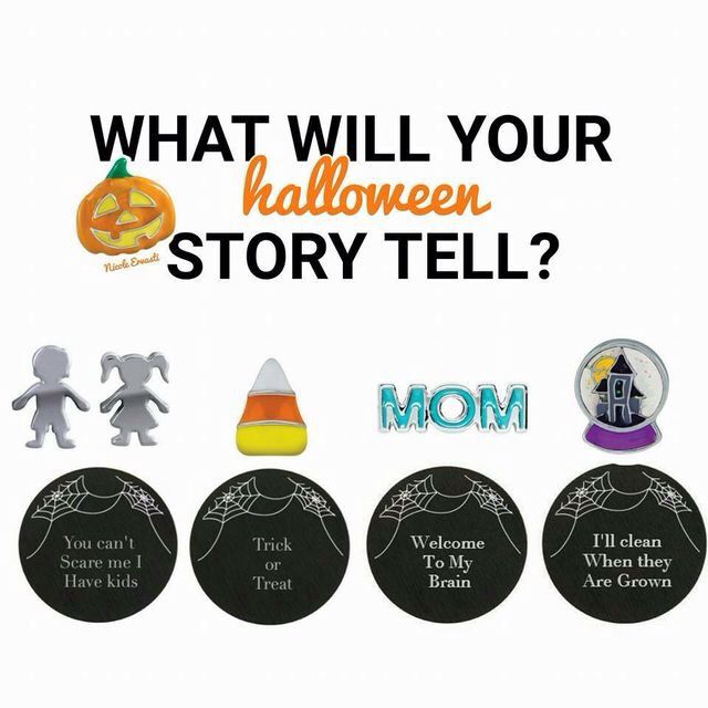 Origami Owl {Halloween collection}