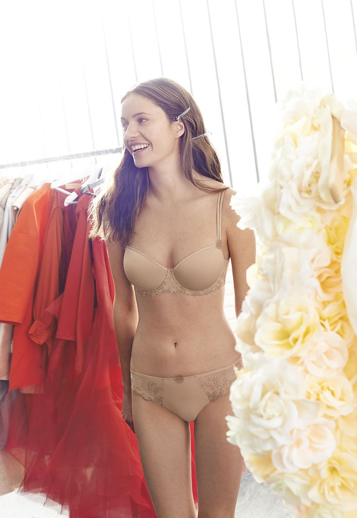Simone Perele Delice 3D Molded and Bikini in Nude
