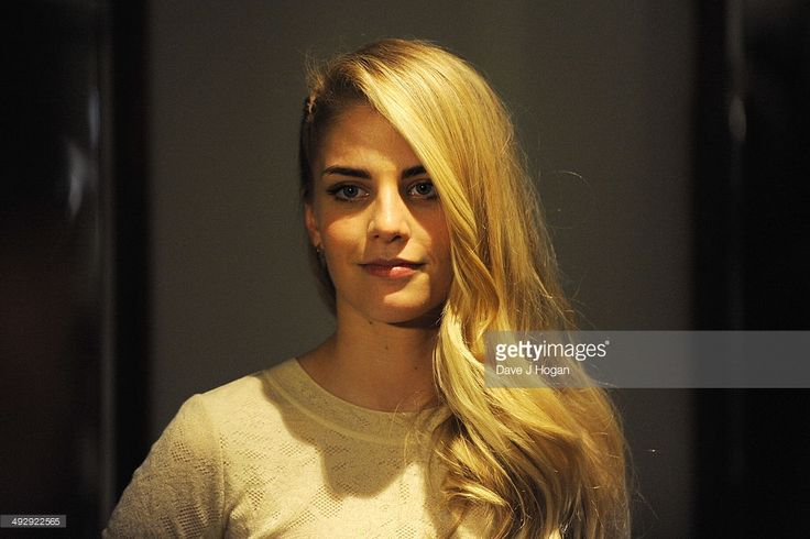 Hannah Reid of London Grammar poses in the winners room at The Ivor Novello Awards at The Grosvenor House Hotel on May 21, 2014 in London, England.