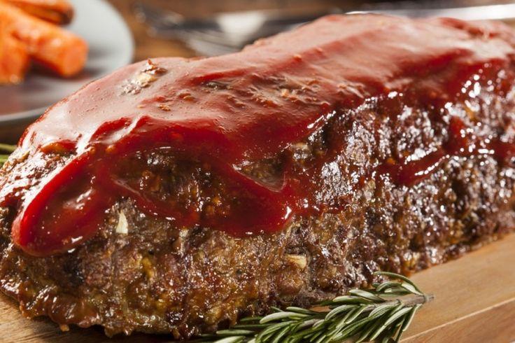 Attendez de voir ce que vous réserve l'intérieur de ce pain de viande...Wow, un résultat délicieux