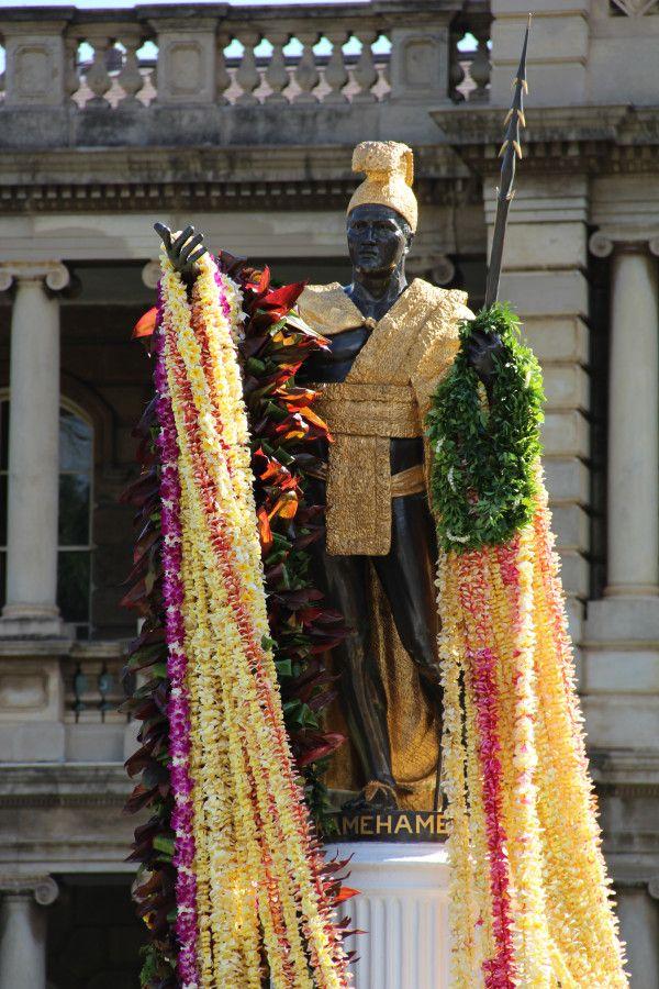 King Kamehameha Statue. O'ahu, Hawai'i.