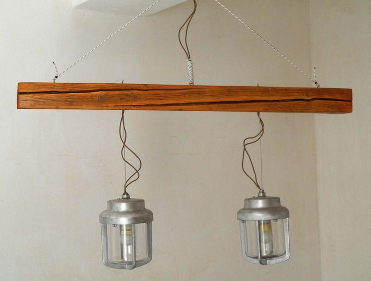 Handmade dinner table lamp