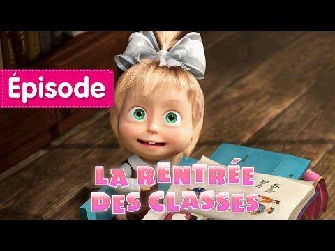 Masha et Michka - La Rentrée Des Classes (Épisode 11) Animation français 2016 - YouTube