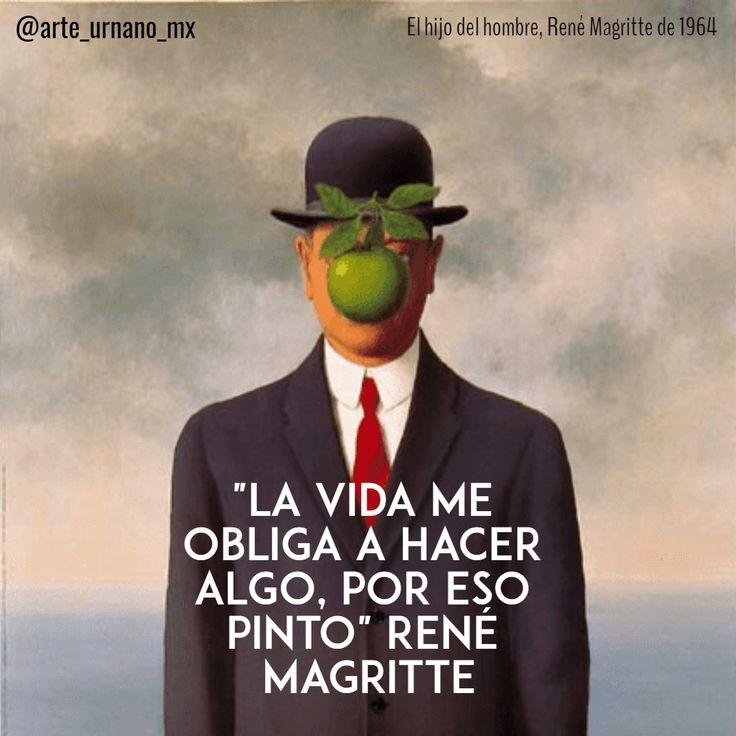 """René Magritte fue un pintor surrealista conocido por sus ingeniosas y provocativas imágenes, pretendía cambiar la percepción de la realidad  """"La vida me obliga a hacer algo, por eso pinto""""  Síguenos también en:   Instagram: https://www.instagram.com/arte_urbano_mx  Facebook: https://www.facebook.com/arteurbanomx"""