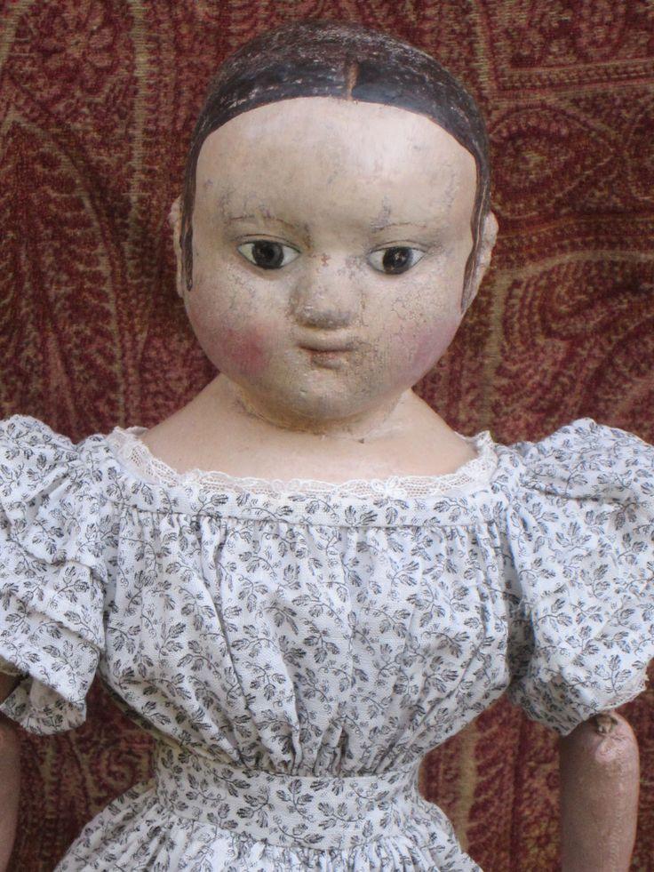 Isane www.izannahwalker.com antique Izannah Walker doll for sale 9/25/14 $10,500.00