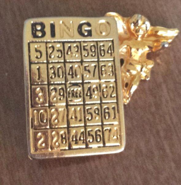 Vintage BINGO Pin