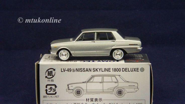 TOMICA LV49b NISSAN SKYLINE C10 1800 4DR DX 1968 | 1/64 | SILVER | TOMYTEC 2007