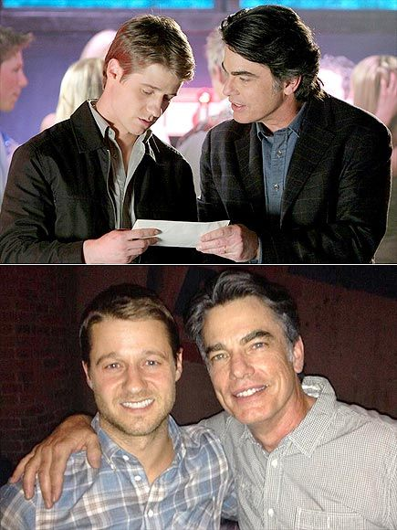 "PETER & BEN Wise dad Sandy Cohen and troubled teen Ryan Atwood no longer call Newport Beach home, but family ties are still strong for The O.C. costars Gallagher and McKenzie, who played father and adopted son on the hit drama that ended in 2007. The two met up at a September 2013 performance by Gallagher's singer/songwriter daughter Kathryn, after which the actor Tweeted a photo, writing, ""Hey look who I ran into at @kathryng's show the other night! @ben_mckenzie!"" Next up: A joint…"
