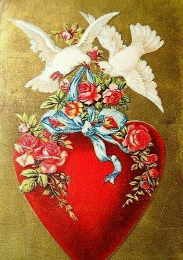 Открытки винтаж любовь