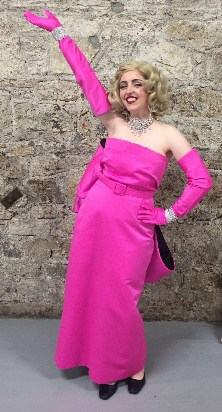 Kathryn Lamb as Marilyn fabric from CLOTH Dublin
