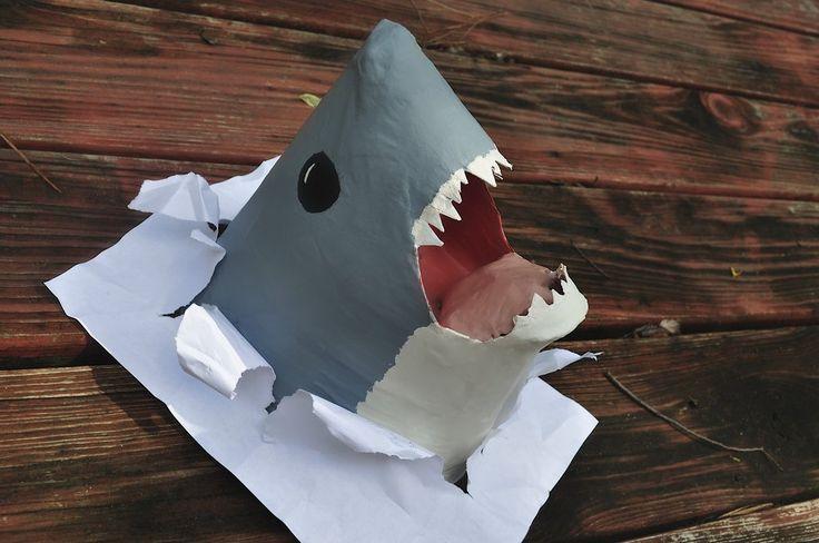 Paper Mache Shark By Doodlegirl67 Sculpting Paper