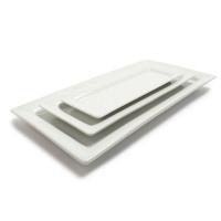 White Porcelain Rectangular Serving Platters