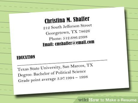 11 best work and resume images on Pinterest Job search, Resume - how to make a resume step by step