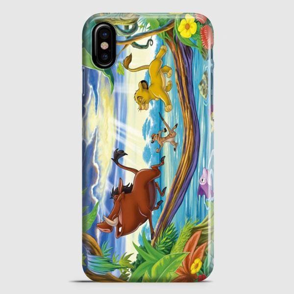 Timon Pumbaa And Simba iPhone X Case   casescraft