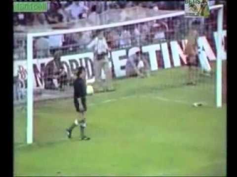 Final de la Copa del Rey 1977. Penaltys