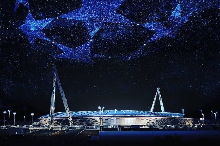 """We're ready to light up Juventus Stadium with black and white stars.#JuveSevilla#InstaJuve #FinoAllaFine #ForzaJuve"""