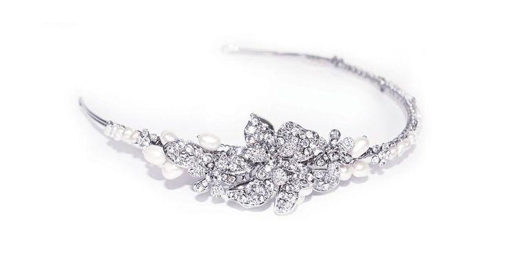 Beautiful bridal hair accessories @ Mia Sposa Huddersfield 01484421900