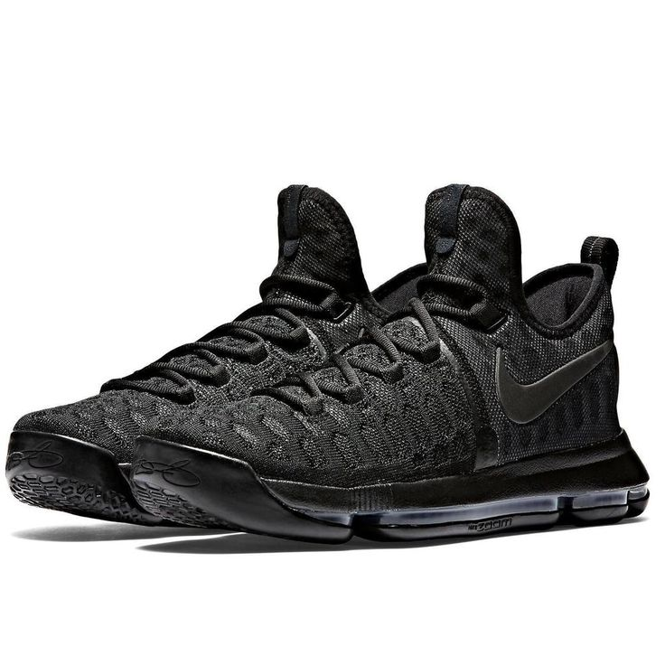 newest 589e5 71ba8 Nike Zoom KD9 Mens Basketball Shoes - Black White2   Cheap kd 9 for sale    Pinterest   Nike zoom, Black and Kd shoes