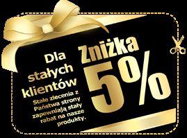 Rabat 5% dla stałych Klientów