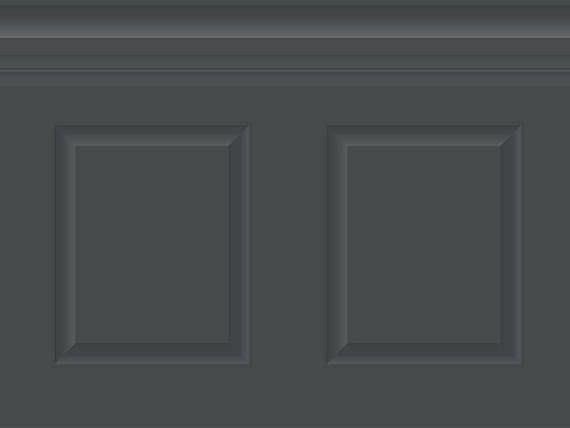 Adhesivo de papel pintado Razón: mal ojo, imitando las molduras de base Colores: gris antracita Características específicas del producto: • en rollos • instalación rápida • adhesivos y reposicionable (puede causar un ligero estiramiento de las razones) • Cuttable • no impermeabilizada
