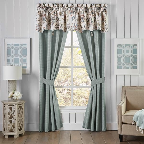 Beckett Bedding Collection Croscill Window Homedecor Home Styling Floral Floralpattern Jac Panel Curtains Curtains Rod Pocket Curtain Panels