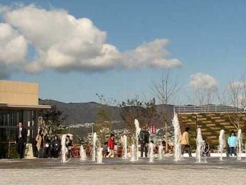 阪急西宮ガーデンズ・屋上の噴水
