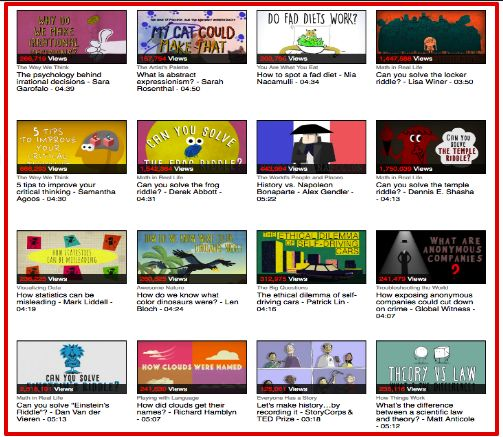 Top TED Ed Lessons on Critical Thinking ~ Educational Technology and Mobile Learning