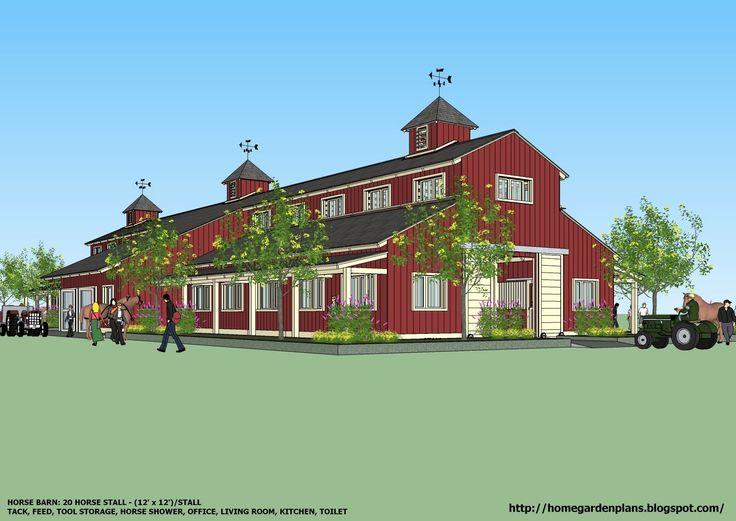 Best 25 horse farm layout ideas on pinterest horse for Farm shed ideas