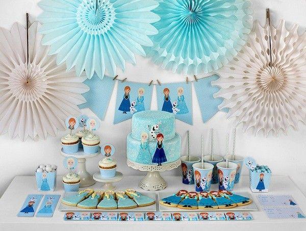 stampabili da ritagliare festa a tema Frozen