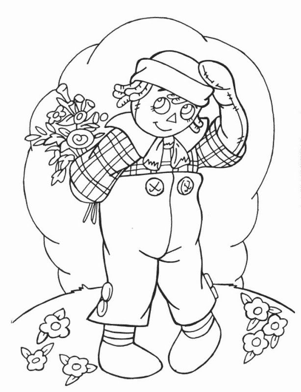 miscellaneous raggedy ann and andy coloring pages janets country home
