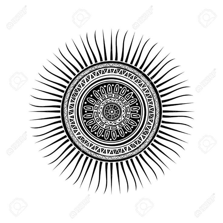sun mandala tattoo - Google Search