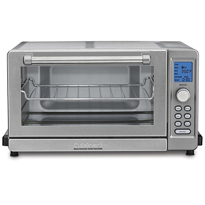 Cuisinart Tob 135 Deluxe Convection Toaster Oven Broiler Brushed Stainless This Good Housekeepin Convection Toaster Oven Toaster Oven Cuisinart Toaster Oven