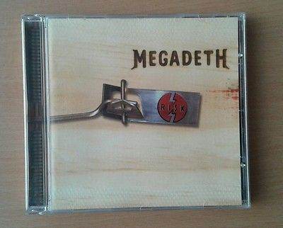 Megadeth-Risk (CD, Aug-1999, Capitol)