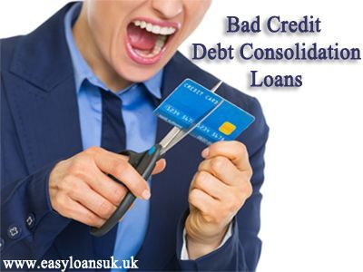 Want to clear off dues from a reliable monetary hub? Come at Easy Loans UK, which is providing an exciting deal as bad credit debt consolidation loans. They are well customized consolidation loans for people with bad credit. To know more, visit: http://www.easyloansuk.uk/debt-consolidation-loans/