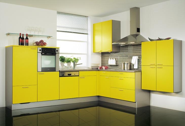 Perfect  K che in Gelb Wohnk che dyk kuechen de Gelbe K chen Pinterest Kitchen design and Kitchens