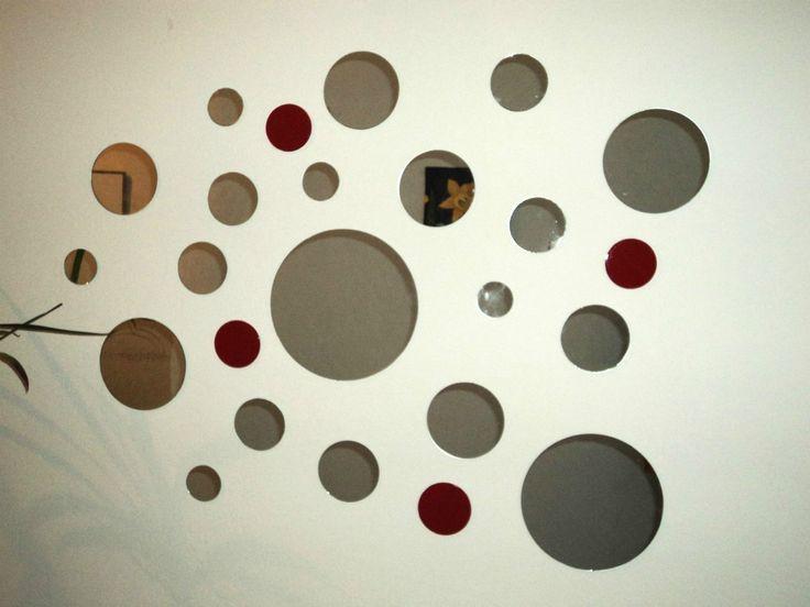 Espejos Decorativos Redondos/cuadrados En Diferentes Medidas - Capital Federal - $ 199,99 en MercadoLibre