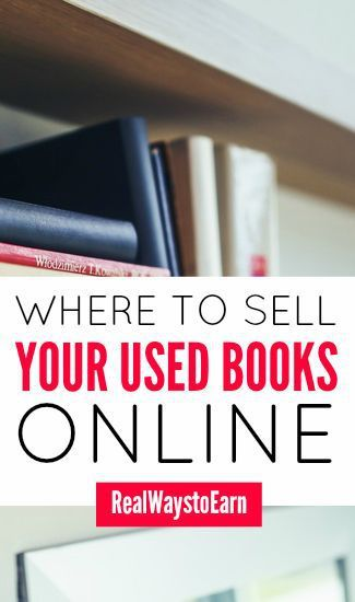 A list of places to sell your used fiction and textbooks online and offline.