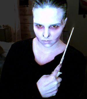 Voldemort Makeup by Devain on deviantART