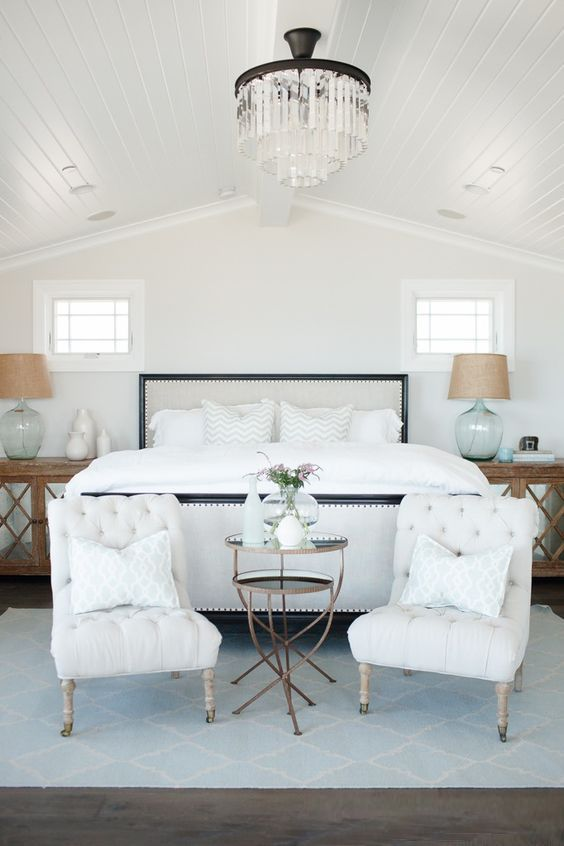 Coastal Style: Dreamy Hamptons Bedrooms                                                                                                                                                                                 More