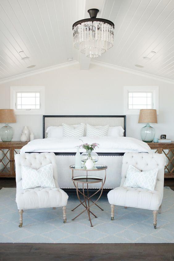 Coastal Style: Dreamy Hamptons Bedrooms More