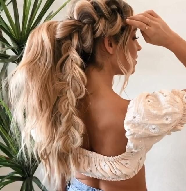Who's ready to FINALLY learn those braids??⠀ [Video] | Hair styles, Hair, Easy hairstyles for long hair