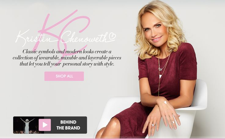 Kristin Chenoweth's HSN Jewelry Collection #HSN #jewelry