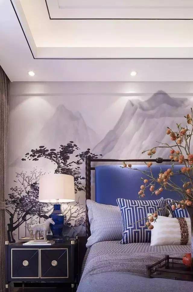 新中式卧室,骨子里的文化自信