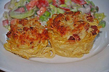 Spaghetti carbonara-Muffins, ein sehr leckeres Rezept aus der Kategorie Nudeln. Bewertungen: 138. Durchschnitt: Ø 4,5.