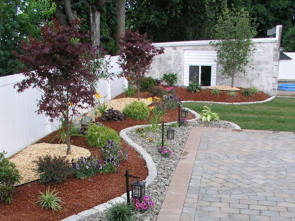 small entryway landscaping ideas | 26 Phenomenal Landscape Edging Ideas - SloDive