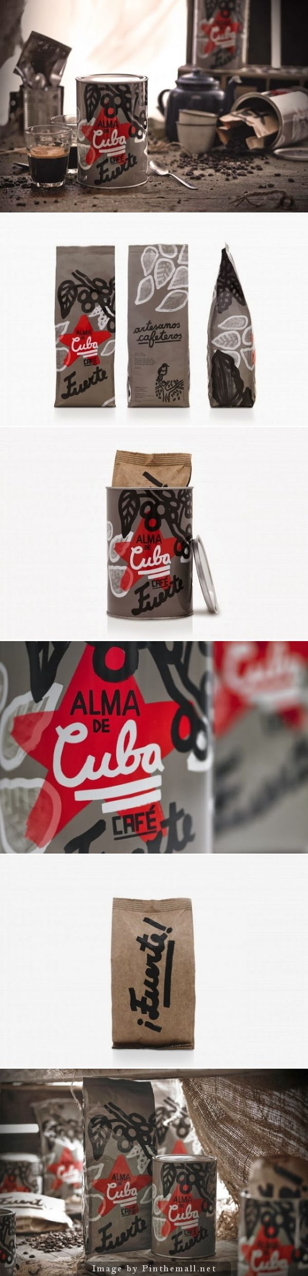 Unique Packaging Design on the Internet, Alma de Cuba #packaging #packagingdesign #design
