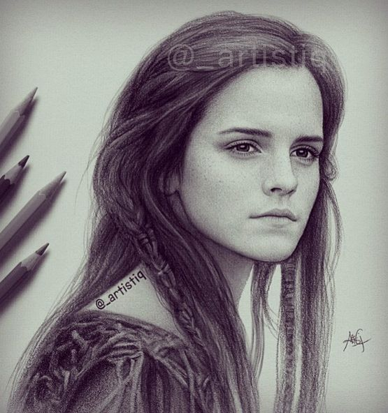 Wonderful Celebrities Drawing Works by Artistiq