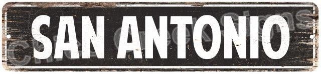 SAN ANTONIO MAN CAVE Street Chic Sign Home man cave Decor Gift Ideas 4180033